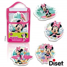 Puzzles pour le bain 2, 3 et 4 pièces : Minnie