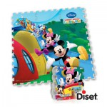 Tapis en mousse Mickey Club House