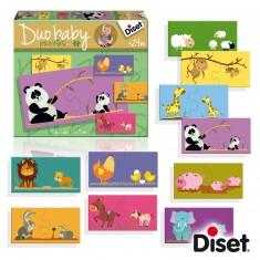 Puzzles 10 x 2 pièces : Duo Baby Maman et bébé