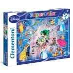 Puzzle 104 pièces : Famille Disney