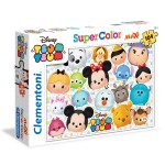 Puzzle 104 pièces Maxi : Disney Tsum Tsum