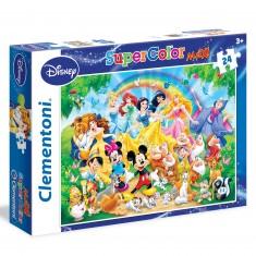 Puzzle 24 pièces Maxi : Disney Family