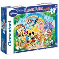 Puzzle 60 pièces Maxi : Disney Classic