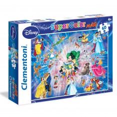Puzzle 60 pièces Maxi : Famille Disney