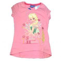 TShirt La Reine des Neiges (Frozen) Rose : 6 ans