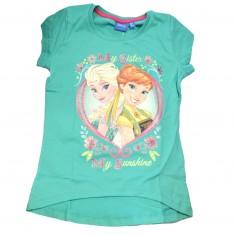 TShirt La Reine des Neiges (Frozen) Vert : 8 ans