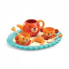 Dinette : Le goûter de Teddy