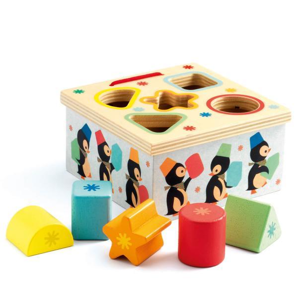 Boîte à formes Géo pingy - Djeco-06409