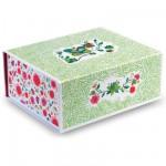 Boîte de rangement fleurie pour chambre Jade