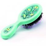 Brosse à cheveux : Doux papillons