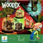 Casse-tête en bois : Ensemble de casse-tête Woodix
