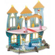 Château des merveilles 3D à construire Pop to play