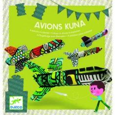Coloriage Avion Kuna