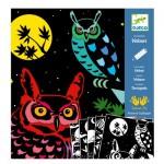 Coloriage Velours : La Forêt