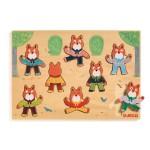 Encastrement 8 pièces en bois : Puzzle Foxymatch