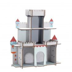 Etagère en bois : La citadelle du chevalier