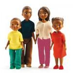 Famille pour maisons de poupées Petit Home : Milo et Lila