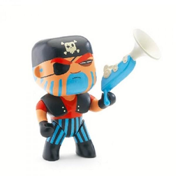 Figurine Arty Toys Les pirates : Jack Skull - Djeco-06801