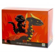 Figurine Arty Toys : Les chevaliers : Drago & Volcano