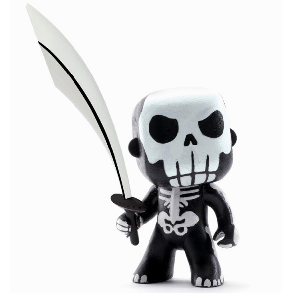 figurine arty toys les monstres skully jeux et