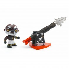 Figurine Arty Toys : Les pirates : Marcus & the Harpoon