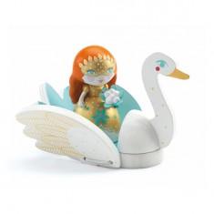 Figurine Arty Toys : Les princesses : Barbara & Ze Swan