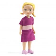 Figurine pour maison de poupées : Alice