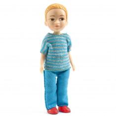 Figurine pour maison de poupées : Victor