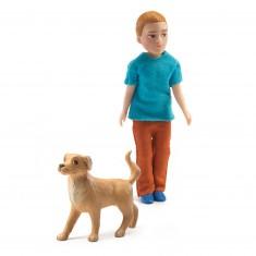 Figurine pour maison de poupées : Xavier