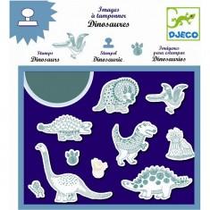 Images à tamponner Dinosaures