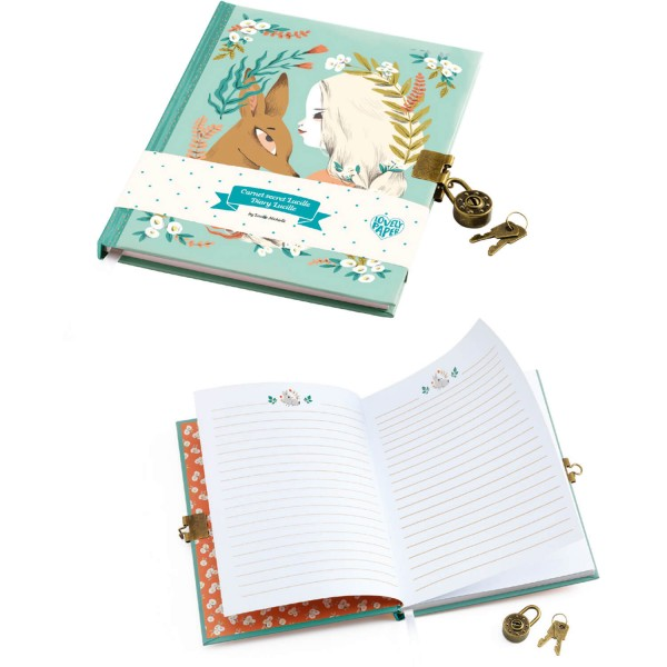Journal intime Lucille - Djeco-DD03610