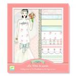 Kit créatif - Au bonheur des filles : Oh! la mode : Les robes de mariées