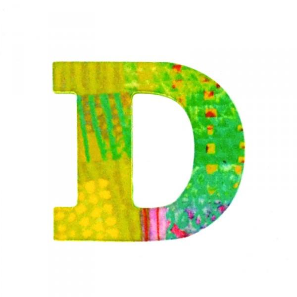Lettre d corative en bois paon d jeux et jouets djeco - Lettre decorative en bois ...