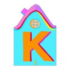 Lettre petite maison en bois : K