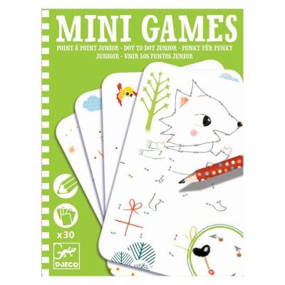 Mini Games Djeco : Point à Point, Junior - Djeco-05338