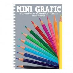 Mini Grafic : 12 mini crayons de couleur