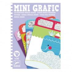 Mini Grafic : Coloriages Doodles junior