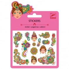 Mini stickers : Motifs indiens