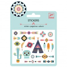 Mini stickers : Western style