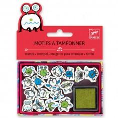 Mini tampons : Emoticones