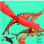 Mobile en papier : Impitoyables dragons
