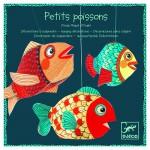 Mobile en papier : Petits poissons