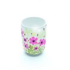 Mug en porcelaine Crème fleurette : 7.8 cm