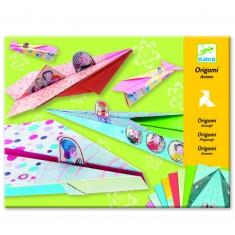 Origami avions les coucous coquets