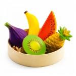 Panier de 5 fruits exotiques