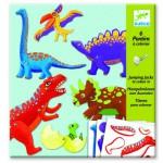 Pantins à colorier : Dinosaures