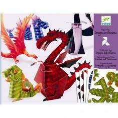 Paper toys : Dragons et chimères