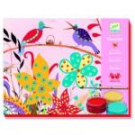 Peinture Atelier gouaches : Le Jardin de Sacha