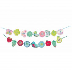 Perles en bois : 16 perles : Filabirdy