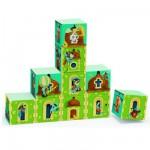 Puzzle 10 cubes : château fort